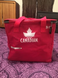 Red and white molson Canadian cooker Medicine Hat, T1A