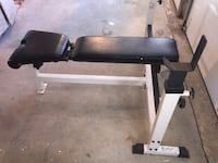 York Barbell Adjustable Weight Bench Groton