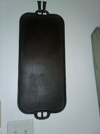 Erie antique cast iron griddle Newark, 19702