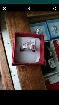 Princess Cut DiamondsCz WGF 925 sz6 Albuquerque, 87112
