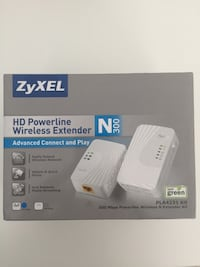 Zyxel Pla-4231 + Pla-4201 Kit Kablosuz Powerline Ethernet Adaptör Bornova, 35040