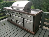 Must See Custom Gas BBQ Island Complete Your Deck Ajax, L1S 2C9