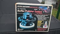 """SEARS CRAFTSMAN 9"""" BUFFER POLISHER good condition comes with 2 bonnets Bristol, 19007"""