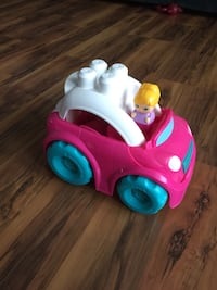 toddler's pink and white ride-on toy New Hartford, 13413