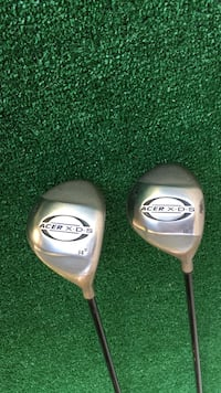 Acer XDR Golf 3 and 5 Woods, Stiff Flex Houston, 77064