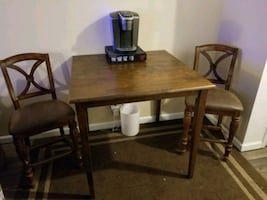 Dining table coffee table chairs