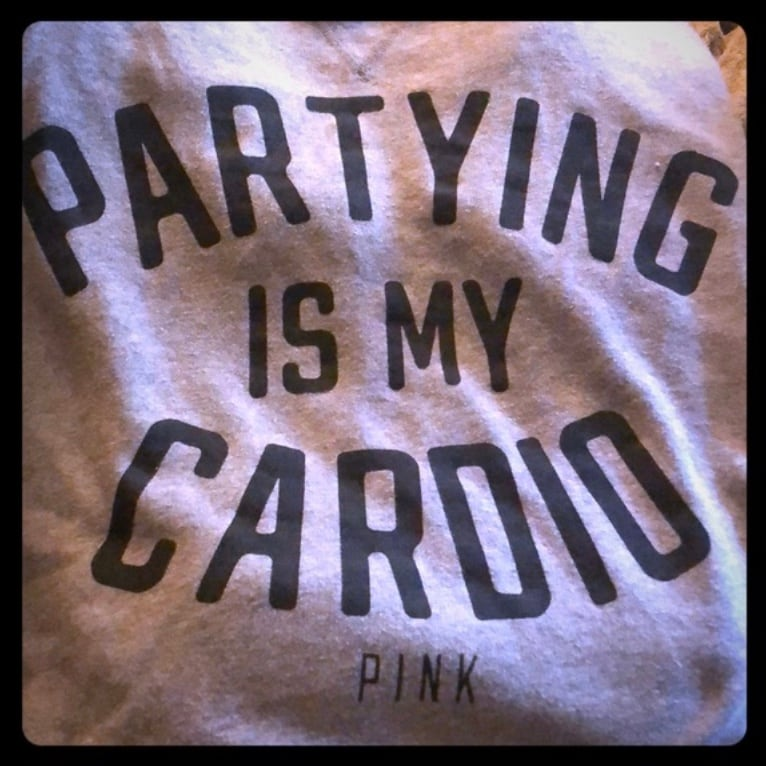 Victorias secret PINK cardio sweater - large 0