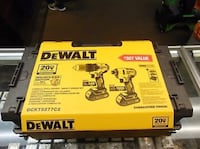Dewalt Brushless Impact/drill set Boston, 02128