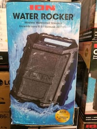 "SPEAKER ""NEW "" ION WATER ROCKER"