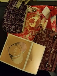 Coach bags and perfume with box Vacaville, 95687