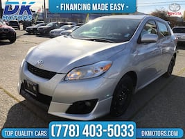 2009 Toyota Matrix S,