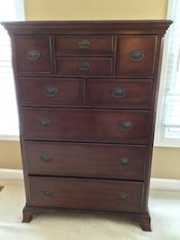 Brown wooden dresser Fairfax Station, 22039
