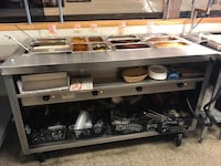 "Hot Bar Steam table Unit ""Delfield EHEI60C"""