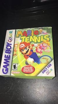 Mario Tennis GBC ( Box ,game etc) Kelowna, V1W