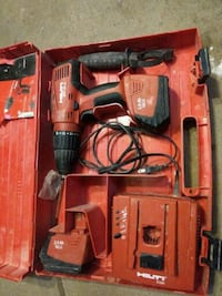 red and black Milwaukee cordless power drill Edmonton, T5X 6B7