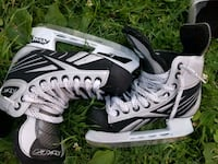 pair of black-and-white Bauer ice skates Mississauga, L5N 7H6