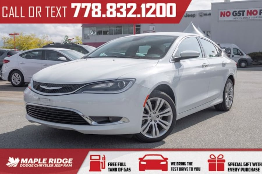 2016 Chrysler 200 Limited | Fully Loaded 05322082-98a9-4cca-8cba-9e3ff8a697d5