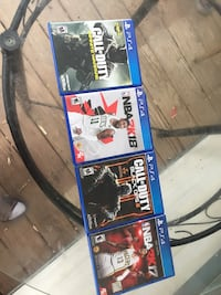 4 Ps4 Games All Good I Just Dont Have System Anymore Cleveland, 44102