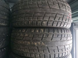 255/55R19 Yokohama ice guard winter tires