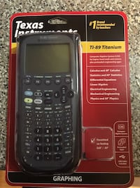 TI 89. Brand new in package.
