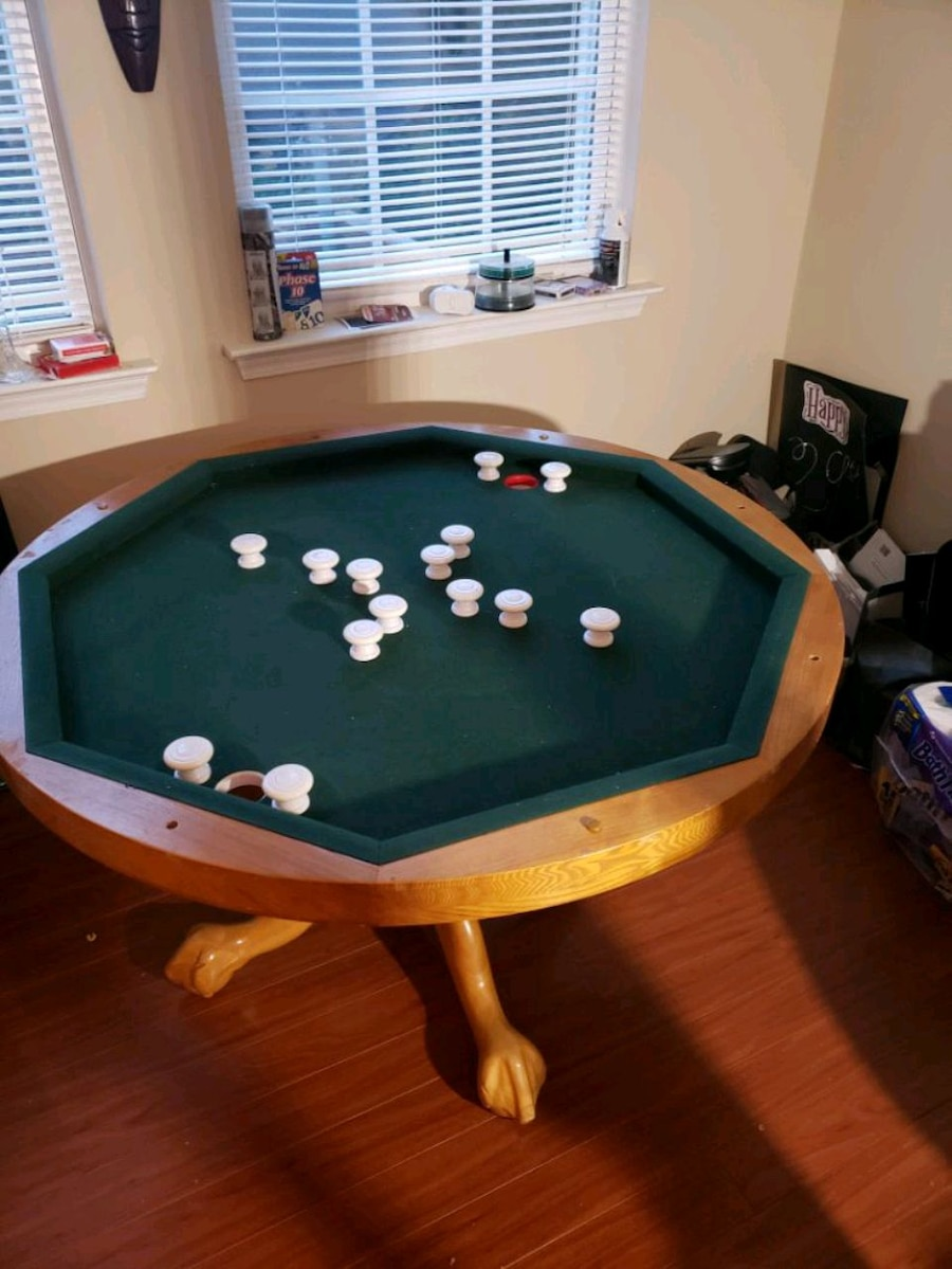 3 In 1 Bumper Pool, Dining, And Poker Table