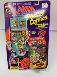 Brand New Vintage X-Men Pocket Comics: Spy Mission Playset (Features Wolverine & Sabretooth) Washington, 20016