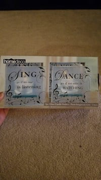 Sing & Dance candle holders decor