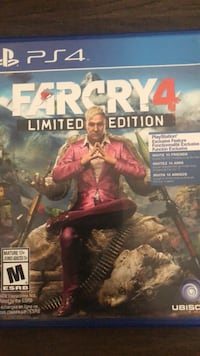 Farcry 4 limited edition ps4 game case Guelph, N1E 0L7