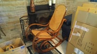 brown and black wooden rocking chair Barrie, L4N 7N1