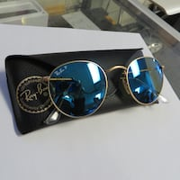 RAY BAN SUNGLASSES RB3447 POLARIZED WITH CASE LIKE NEW 3126 km