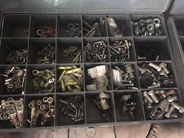 Klein Storage Box with a couple hundred worth of electrical connections.