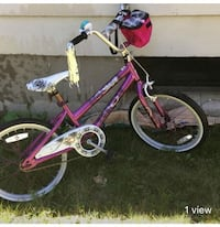 toddler's pink and white bicycle London, N6K 1V8