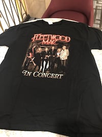 RARE fleetwood mac 2019 tour shirt black crew XL Stevie Nicks