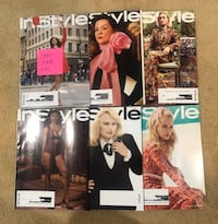 Instyle Magazines January - June 2019 Brand New Perris, 92571