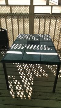 Patio table with free patio fold chairs Calgary, T3J 4G3