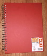 Above Ground Premium Spiral-Bound Sketchbook