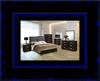B120 11pc bedroom set with mattress Temple Hills