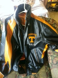 black and yellow leather jacket Knoxville, 37917
