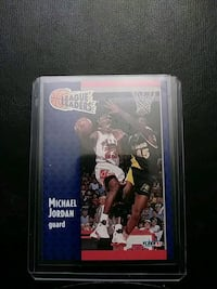1991 Fleer Michael Jordan Basketball Card