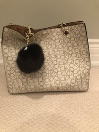 Calvin Klein Purse with Handbag and Charging Pompom Markham, L3P 1C2