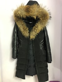 Danier Fur leather Coat