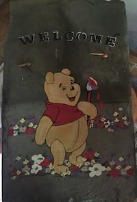 Winnie the Pooh painted slate Arden, 28704