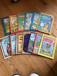 $75 worth ARTHUR Books by Marc Brown