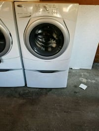 white front-load washer and dryer set Burien, 98168