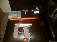 silver and orange paintball gun Mississauga, L5N 2H7