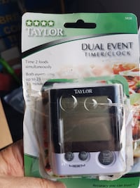Taylor 5828 Dual Event Timer brand new  Calgary