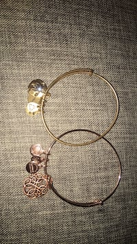 REAL alex and ani gold and rose gold bracelets Pembroke Pines, 33028