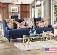 Sofa and loveseat  Industry, 91789