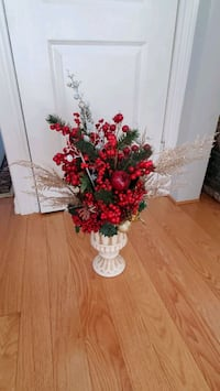 Red Christmas Decoration Artificial Flowers  Toronto, M8W 1Y3