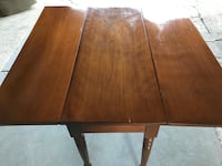 Side folding table (free Delivery ) Calgary, T3E 6X1